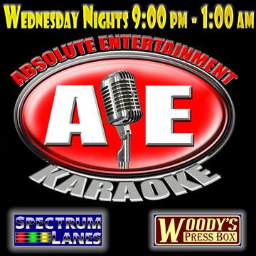 Woody's Wednesday karaoke